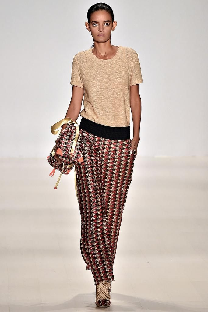 Custo Barcelona Spring 2015 Ready-to-Wear - Collection - Gallery - Look 1 - Style.com