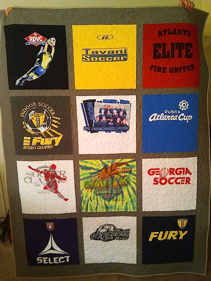 how to make a tshirt quilt without interfacing
