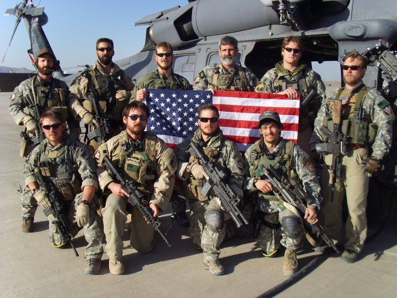 Elite Hunting Club Air force pararescue, Special forces