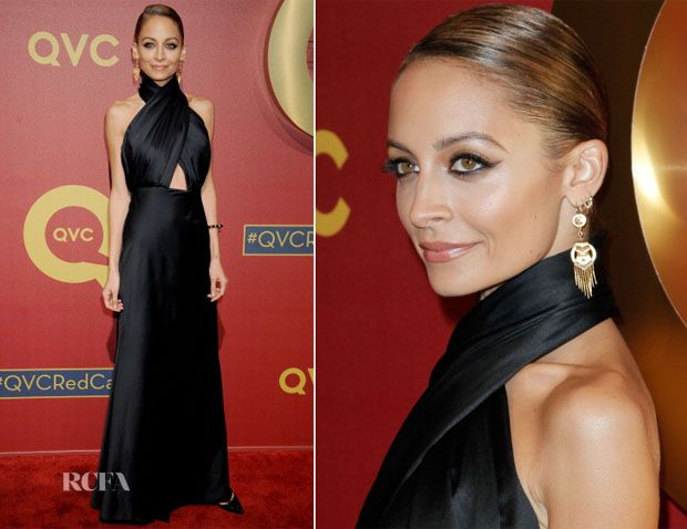 Nicole Richie Fashion Style | Nicole Richie attended the QVC 5th Annual Red Carpet Style event held ...