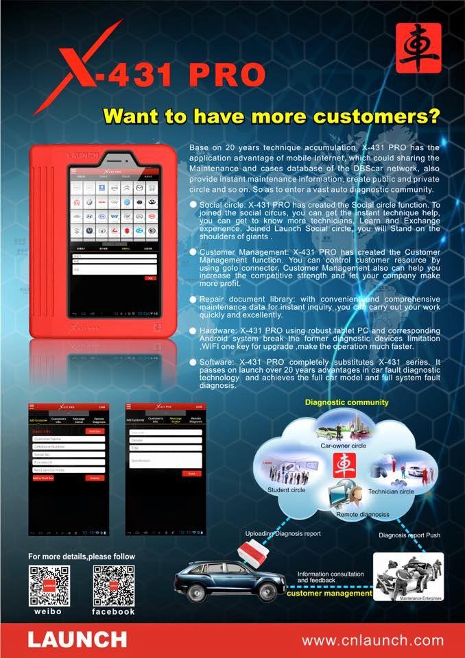 Launch X431 X431 V (Pro) Wifi/Bluetooth Tablet Full