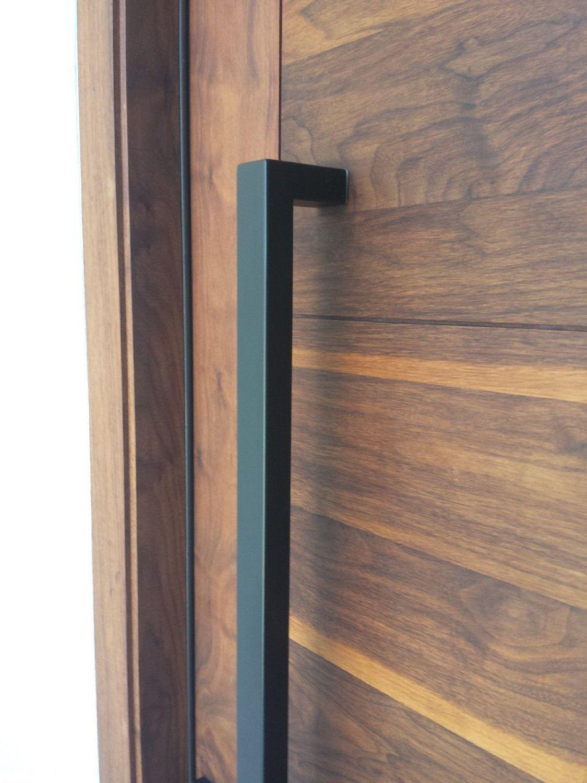 166 Matt Black Modern Stainless Steel Sus304 Entrance