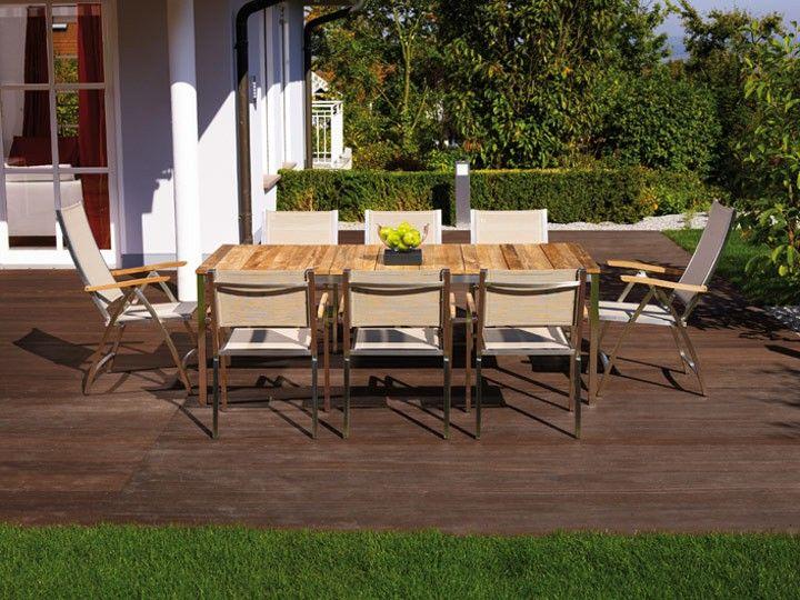 NAXOS U0026 PONTIAC Sitzgruppe B Gartengruppe 9 Tlg. Hochwertige Gartenmöbel  Von Zebra Fans Eines Modernen Gartenambientes Mit Hochwertigen,  Wetterfesten Und ...