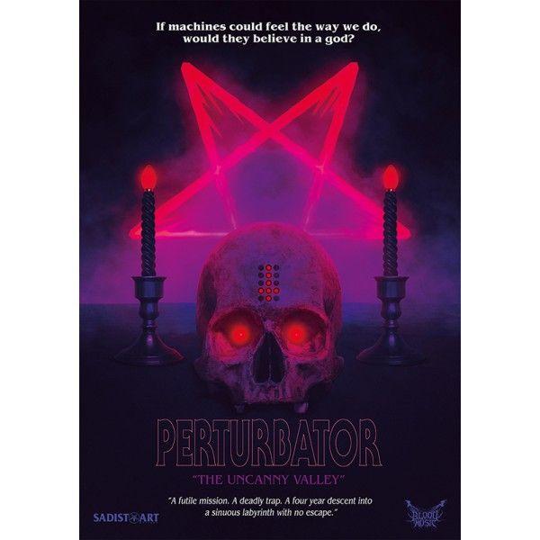"Perturbator ""The Uncanny Valley"" Poster"