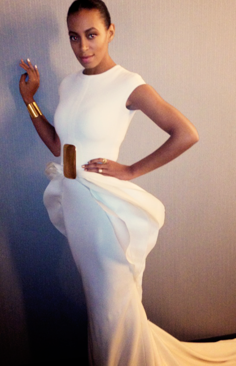 Solange. I absolutely Love this dress.