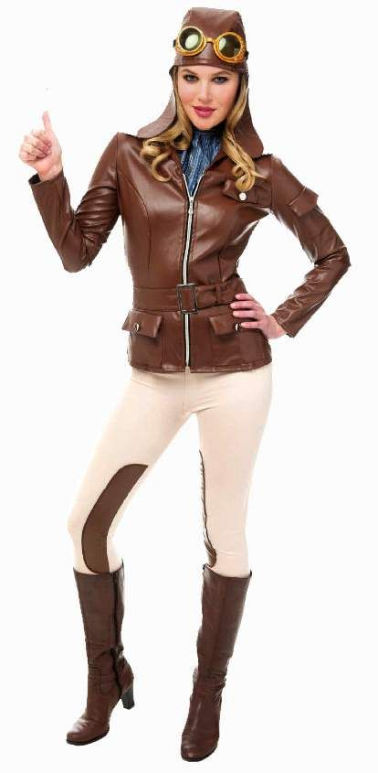 a129dbe05220 Women s Amelia Earhart Aviator Costume - Candy Apple Costumes - Browse All  Women s Costumes
