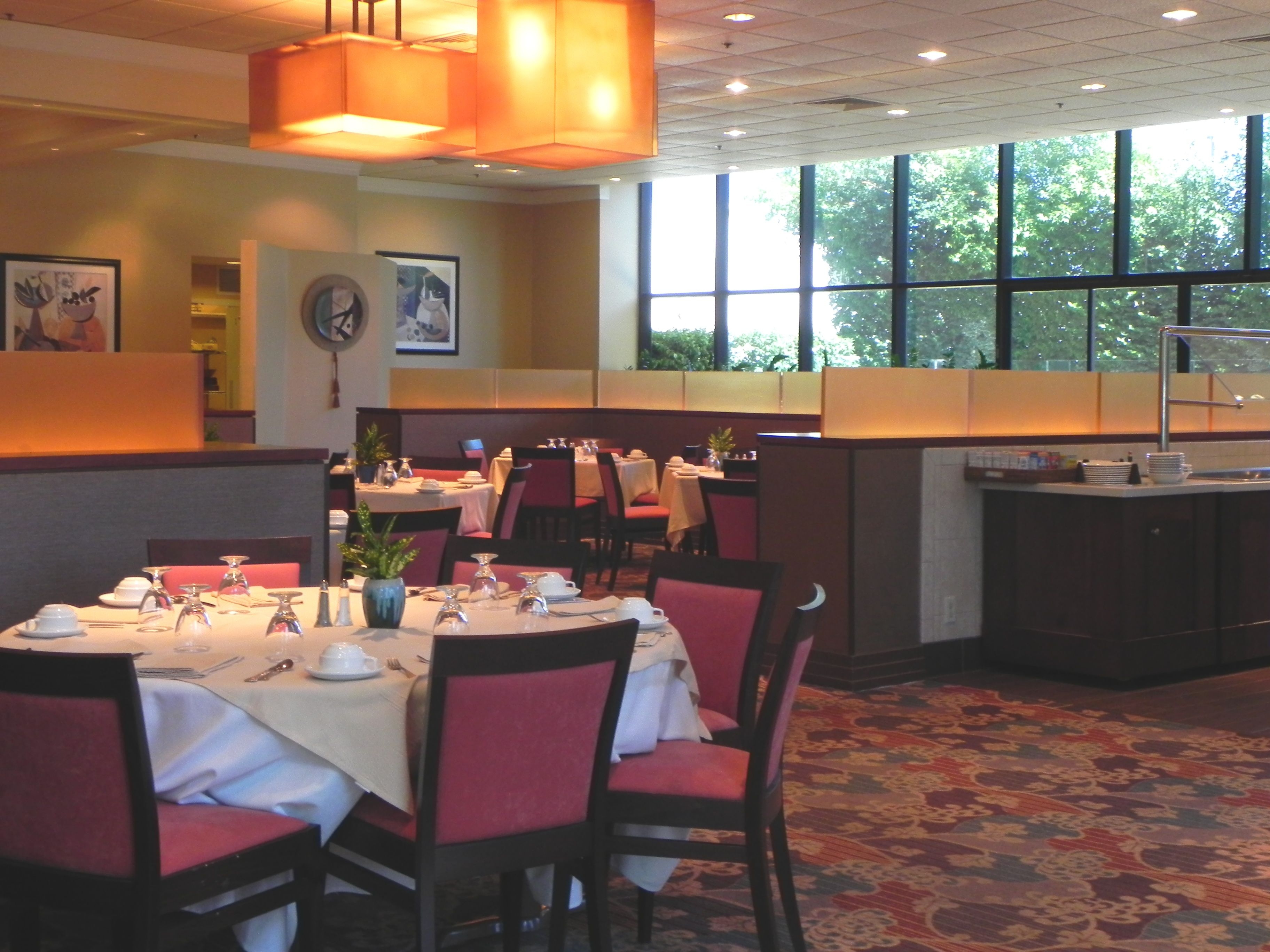 Ginger Cafe Holiday Inn Torrance Menu