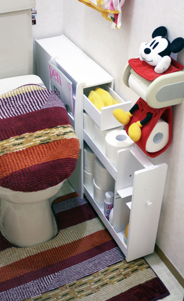Compact Toilet Paper Storage Photo E Unit