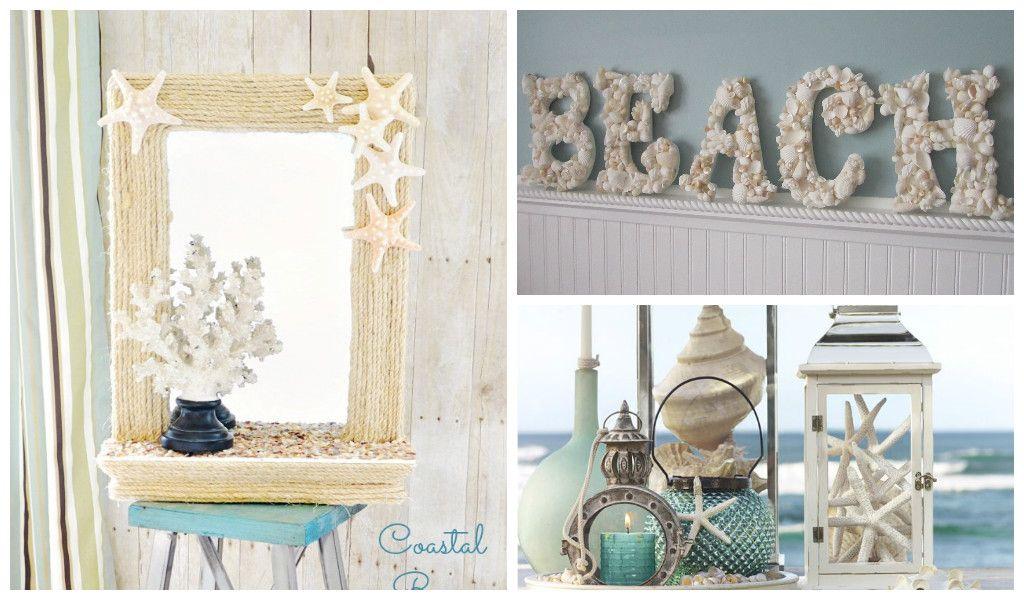 25 Amazing Diy Beach Decorations Diy Beach Decor Beach Theme Decor Beach Bathroom Decor