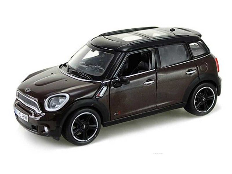 Mini Cooper S R60 Countryman Model Brown W Sunroof 1 24 Scale Toy