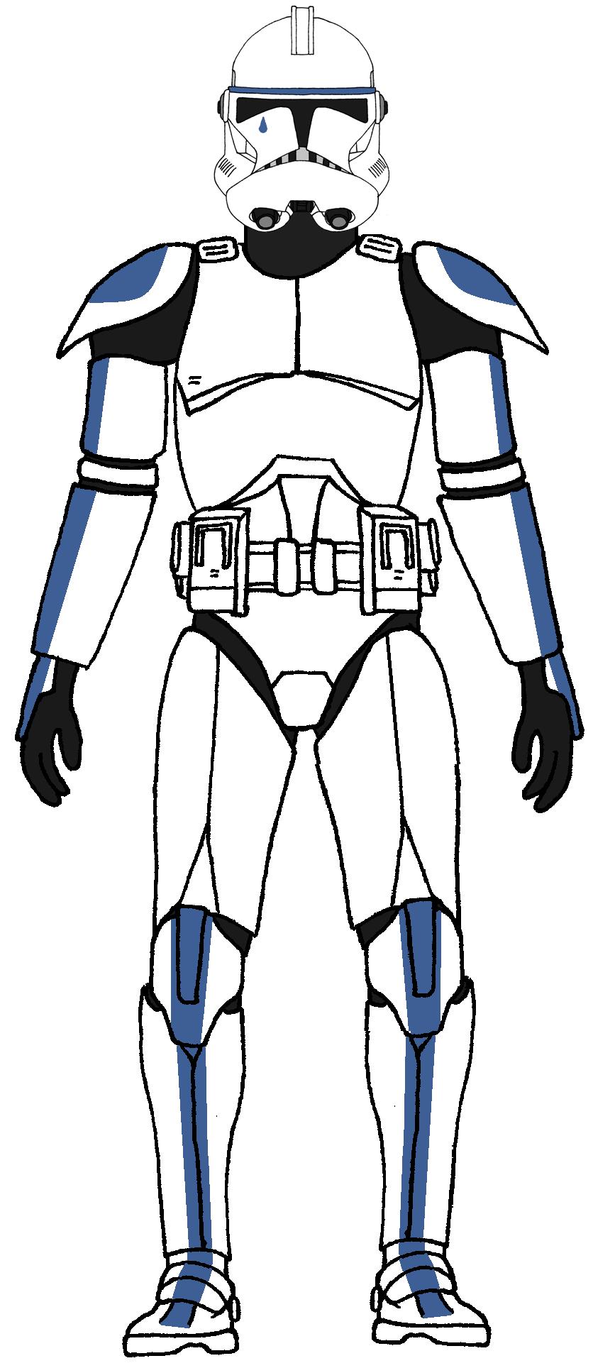 Clone Trooper 501st Legion Tup 1 St Ausmalbilder Und Projekte