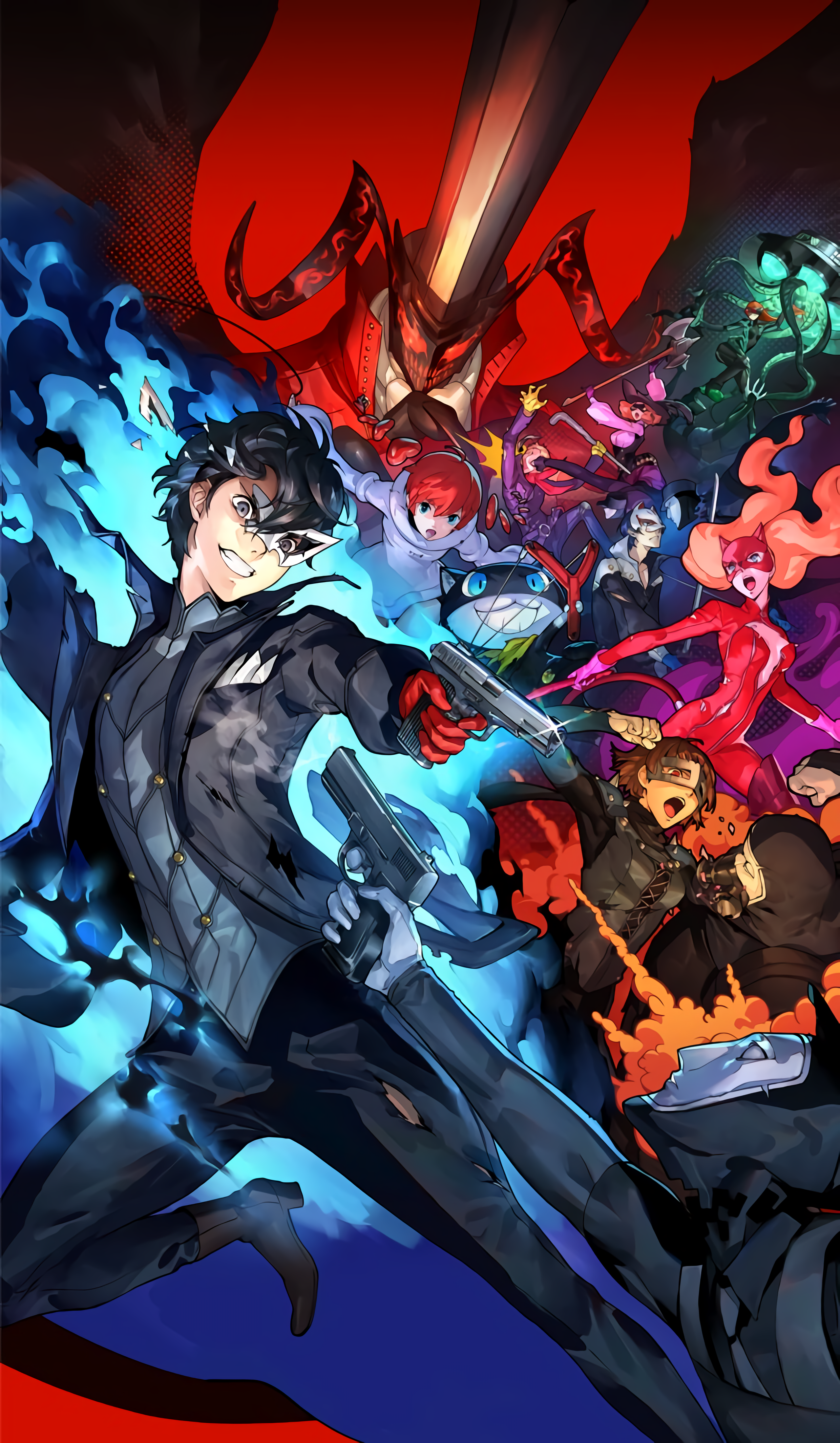 15 Photos Of Persona 5 Wallpaper Hd Phone 4k Wallpapers In 2020 Persona 5 Persona 5 Anime Persona 5 Joker