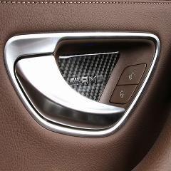 26 Off 1 Set Amg Logo Carbon Fiber Car Inner Door Handle Bowl Decals Trim For Mercedes Benz E Class W213 2016 Auto A Amg Logo Car Accessories Benz E Class