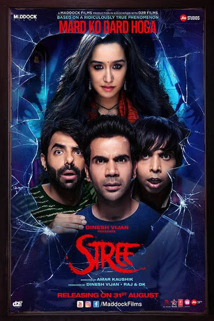 New Hindi Movei 2018 2019 Bolliwood: Stree (2018) Bollywood Hindi Movie NEW PDVDRip X264 AAC