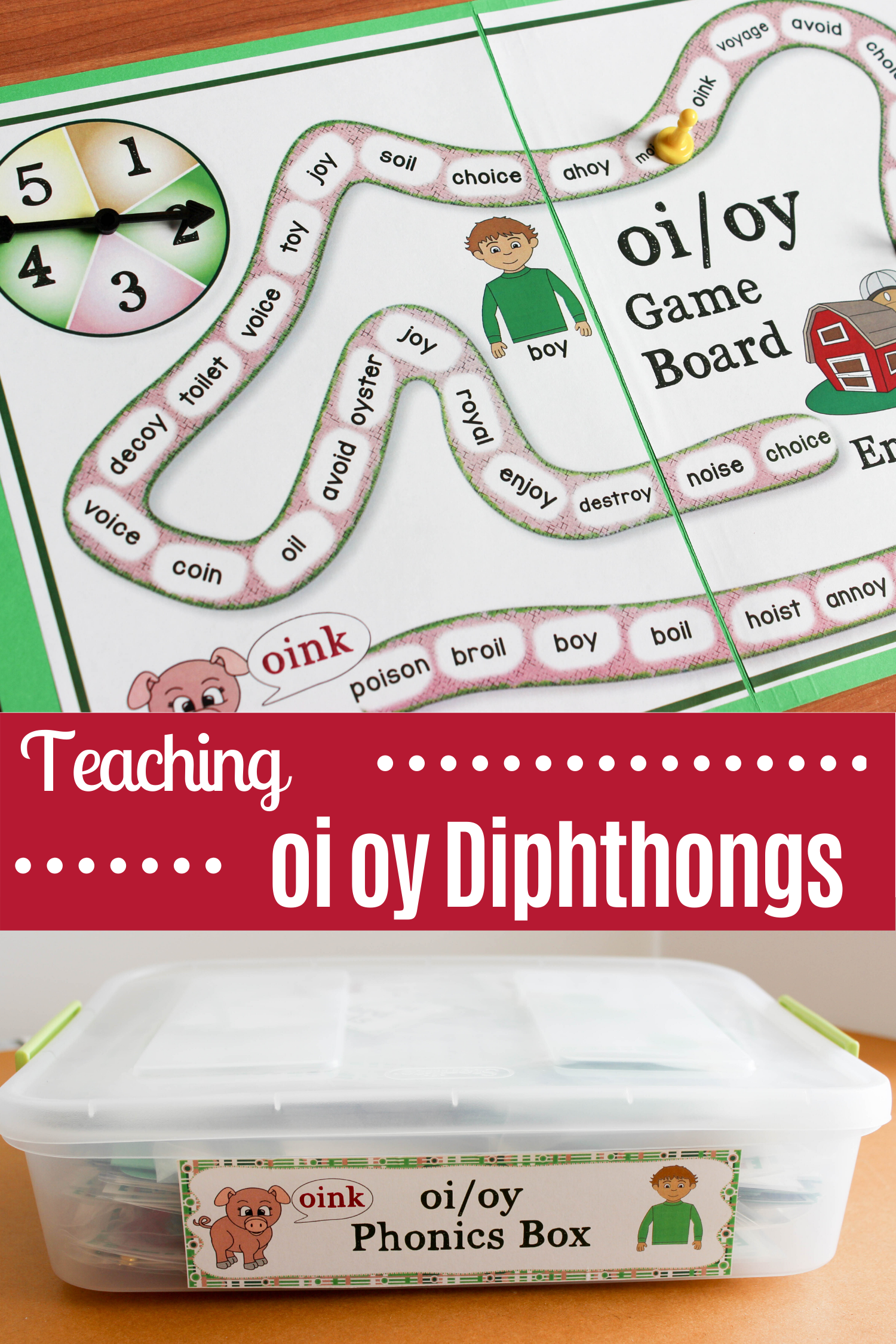 Teaching The Oi Oy Diphthongs