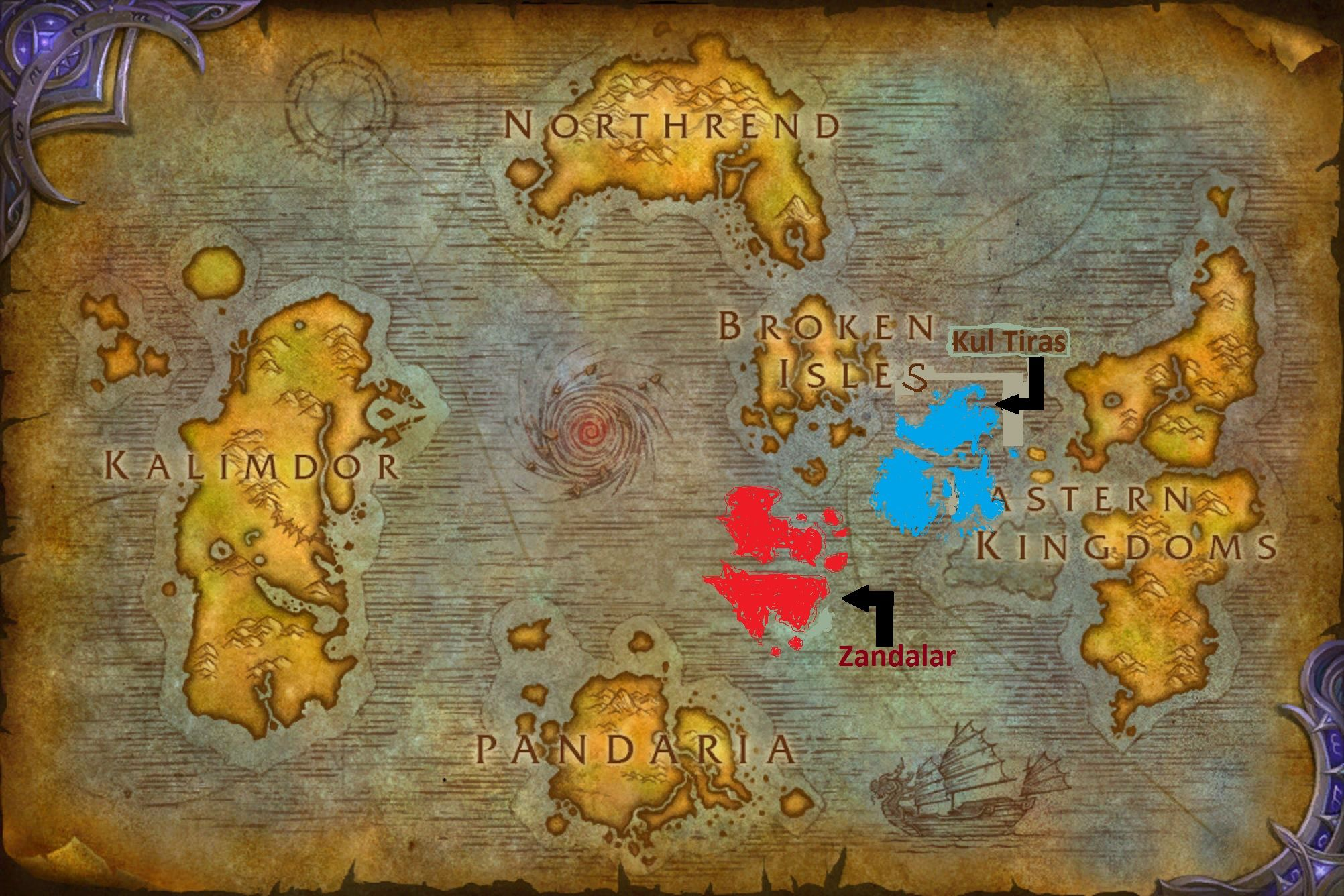 My attempt at recreating the bfa map worldofwarcraft blizzard my attempt at recreating the bfa map worldofwarcraft blizzard hearthstone wow warcraft blizzardcs gaming gumiabroncs Images