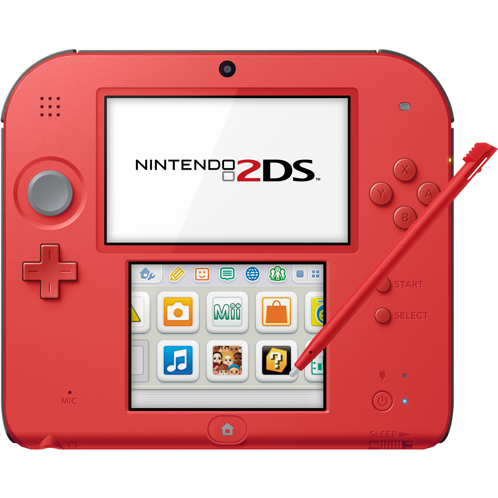 Nintendo 2ds Crimson Red 2 Factory Refurbished By Nintendo Nintendo 2ds Video Game Console Nintendo