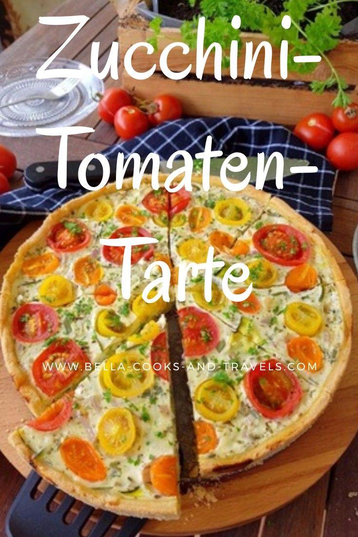 Photo of Super delicious recipe for zucchini and tomato tart # simple # delicious # healthy