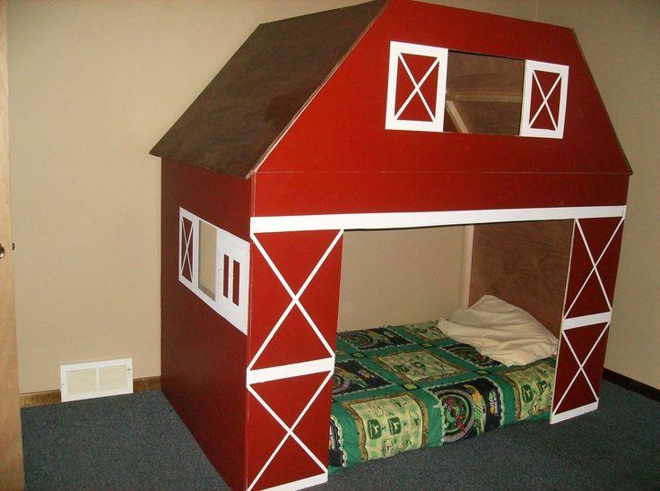Kids Barn Bed Barn Bed Kid Beds Kid Room Decor Bedroom Themes