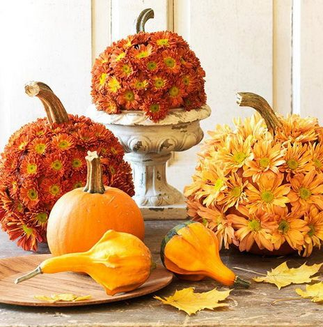 Thanksgiving decorating ideas 02 diy tips tricks ideas for How to decorate a pumpkin for thanksgiving