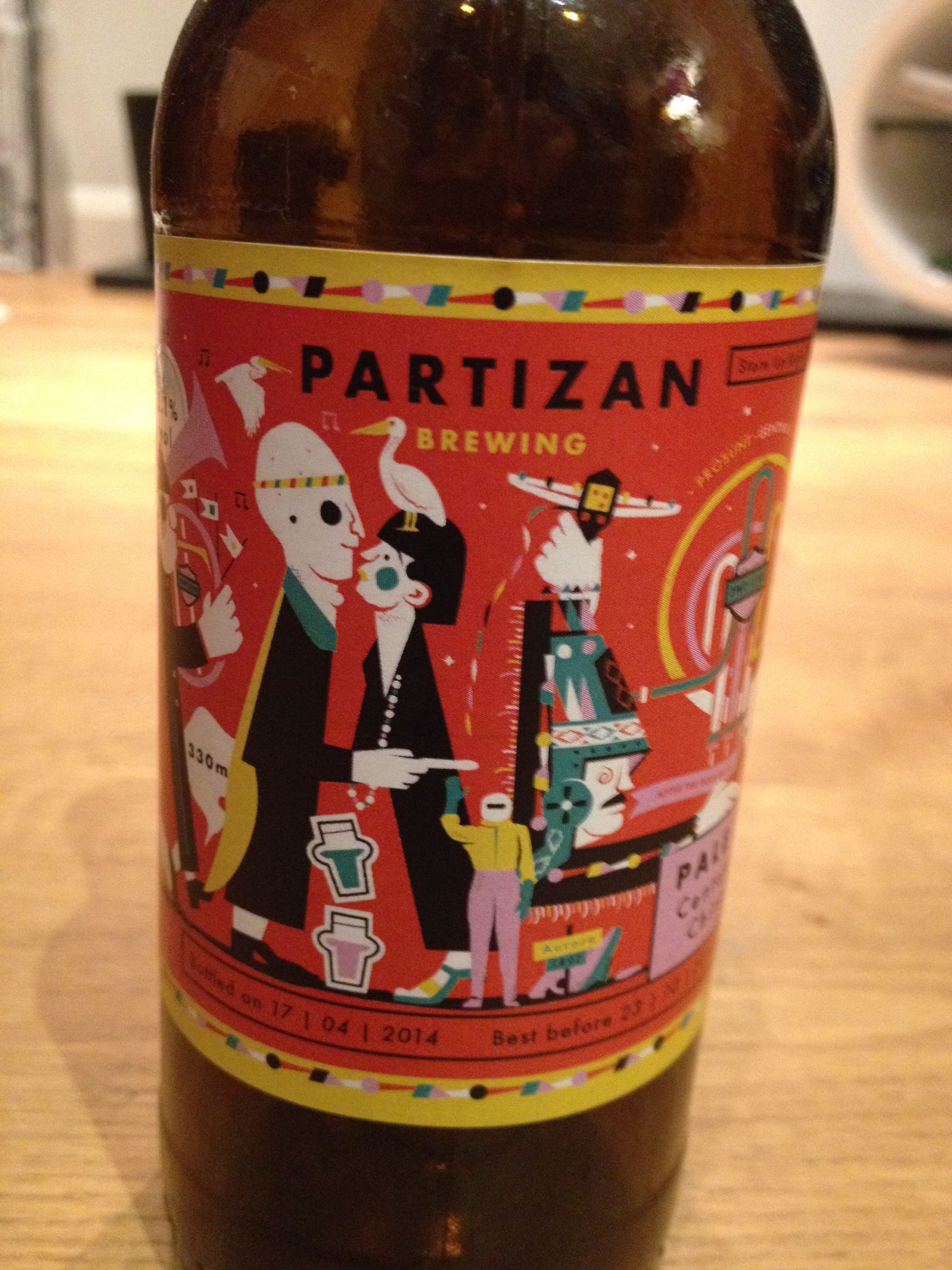 Partizan Brewing Peter Pale And Mary 5 1 South Bermondsey London Provided By Beerbods Beer Brewing Beer Bottle