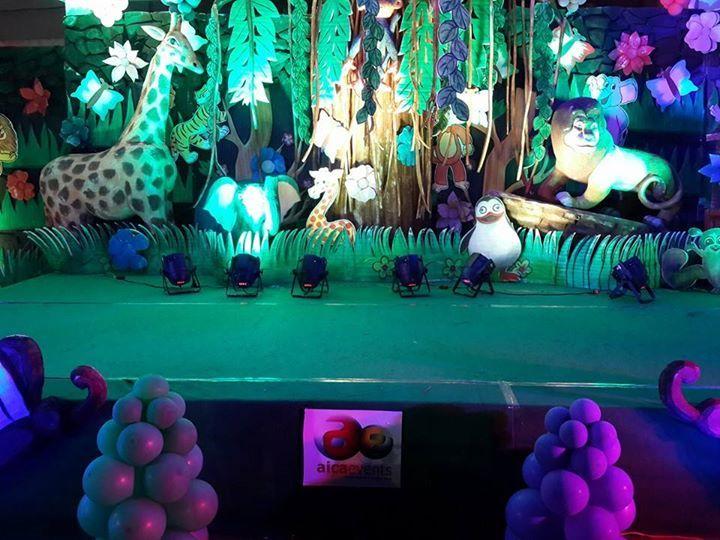 Jungle Theme Madagascar Birthday Decorations