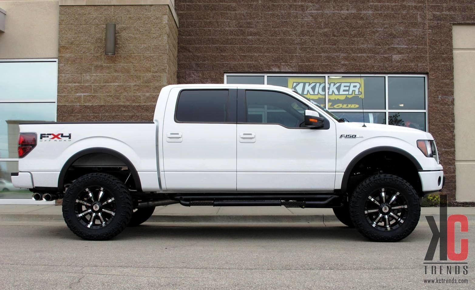White Ford F150 20 Inch Rims Kc Trends 20 Rbp 94 R Wheels Pro