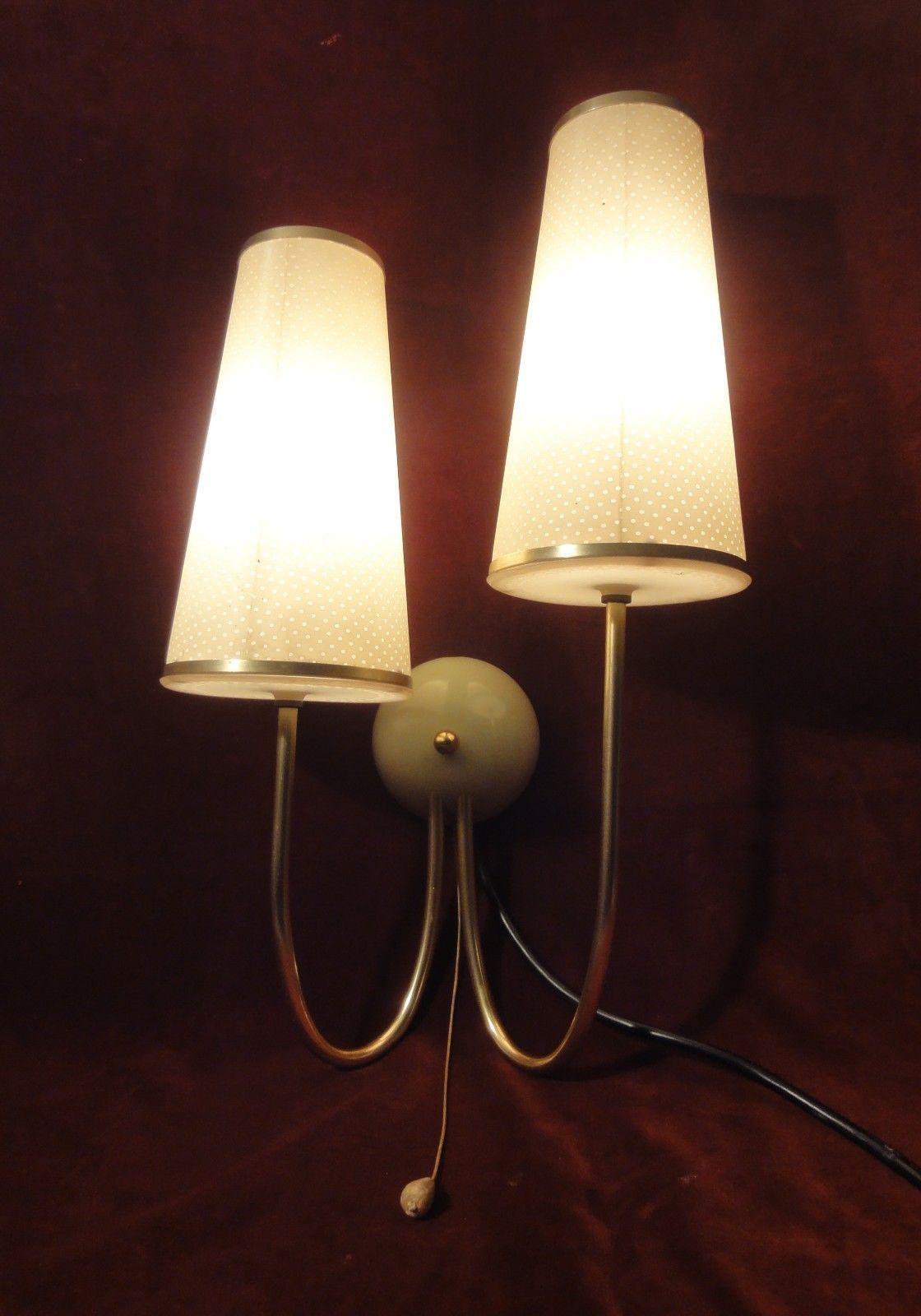 Wandlampe 50er 60er Marke Erco Selten Topzustand Ebay Wandlampe Lampen Wande