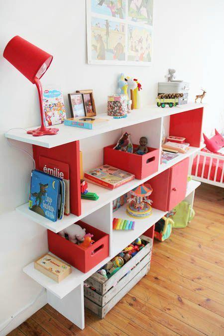 Bricolage maison  une étagère sur plusieurs niveaux - Tête d\u0027ange - Bricolage A La Maison