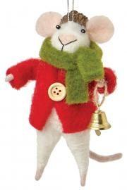 Martha Stewart Living™ Friar Frank Festive Mouse Ornament