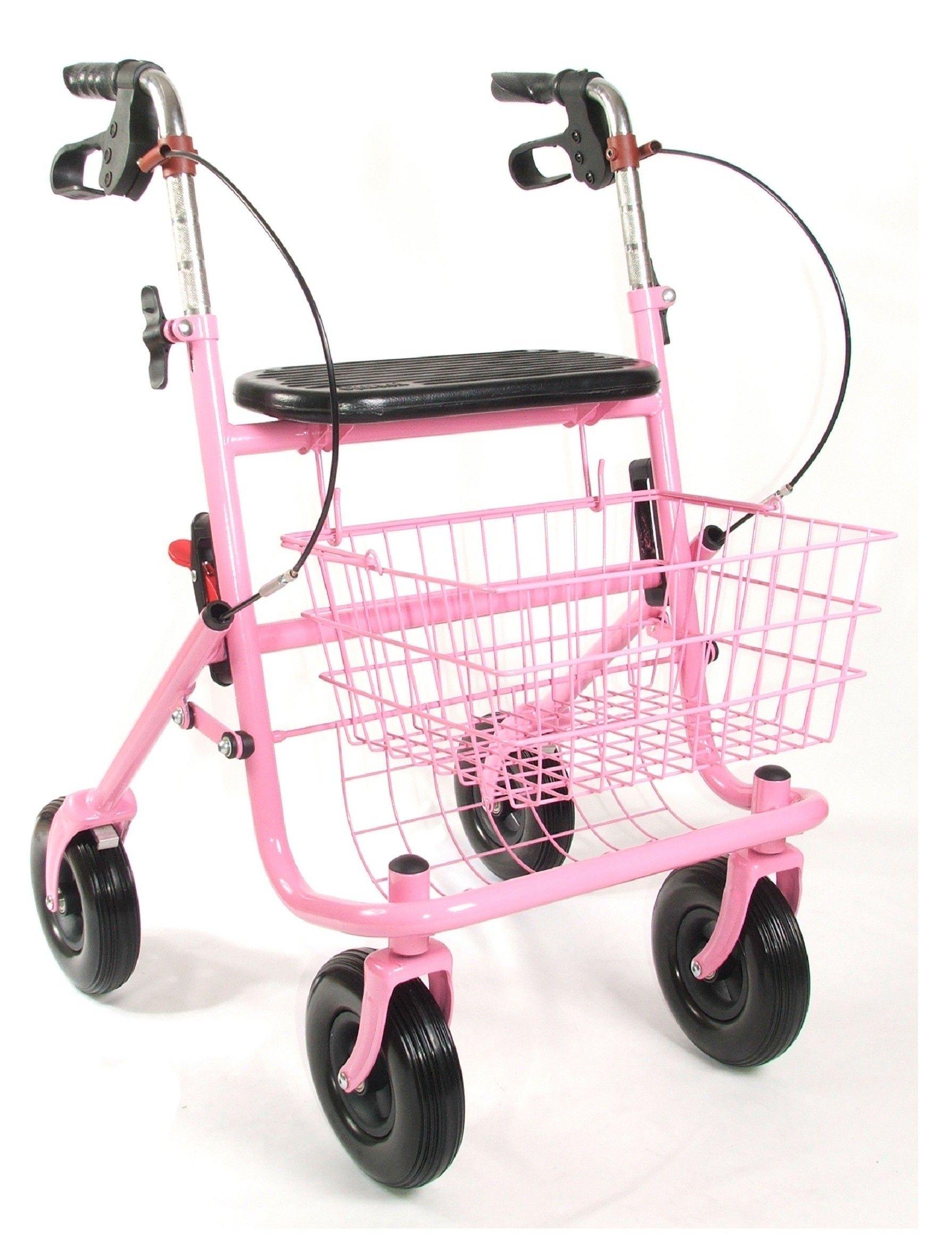 Roze rollator | Rozen