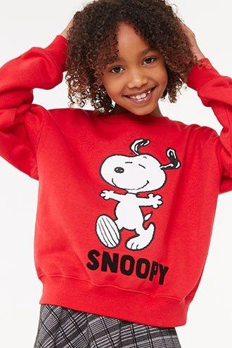 Girls Snoopy Sweatshirt (Kids)