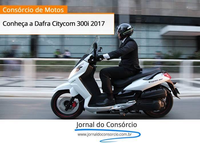 A Dafra apresenta o modelo Citycom 2017, e terá lançamento oficial ainda este mês. Confira: http://goo.gl/8nHBp8