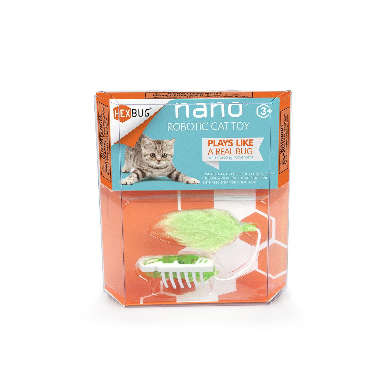 Cat Toy White/Green Cat toys, Hexbug nano, Hexbug