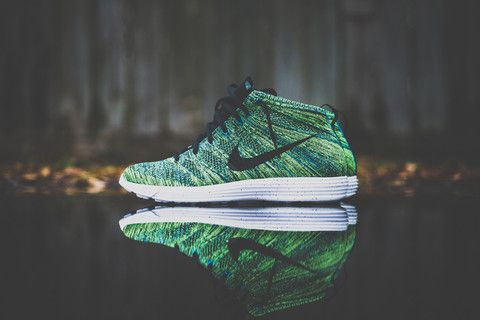 save off a7c37 dc215 Nike Lunar Flyknit Chukka - Night Factor - Sneaker Politics