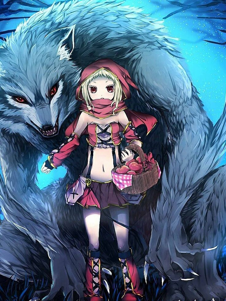 anime red riding hood - Google Search