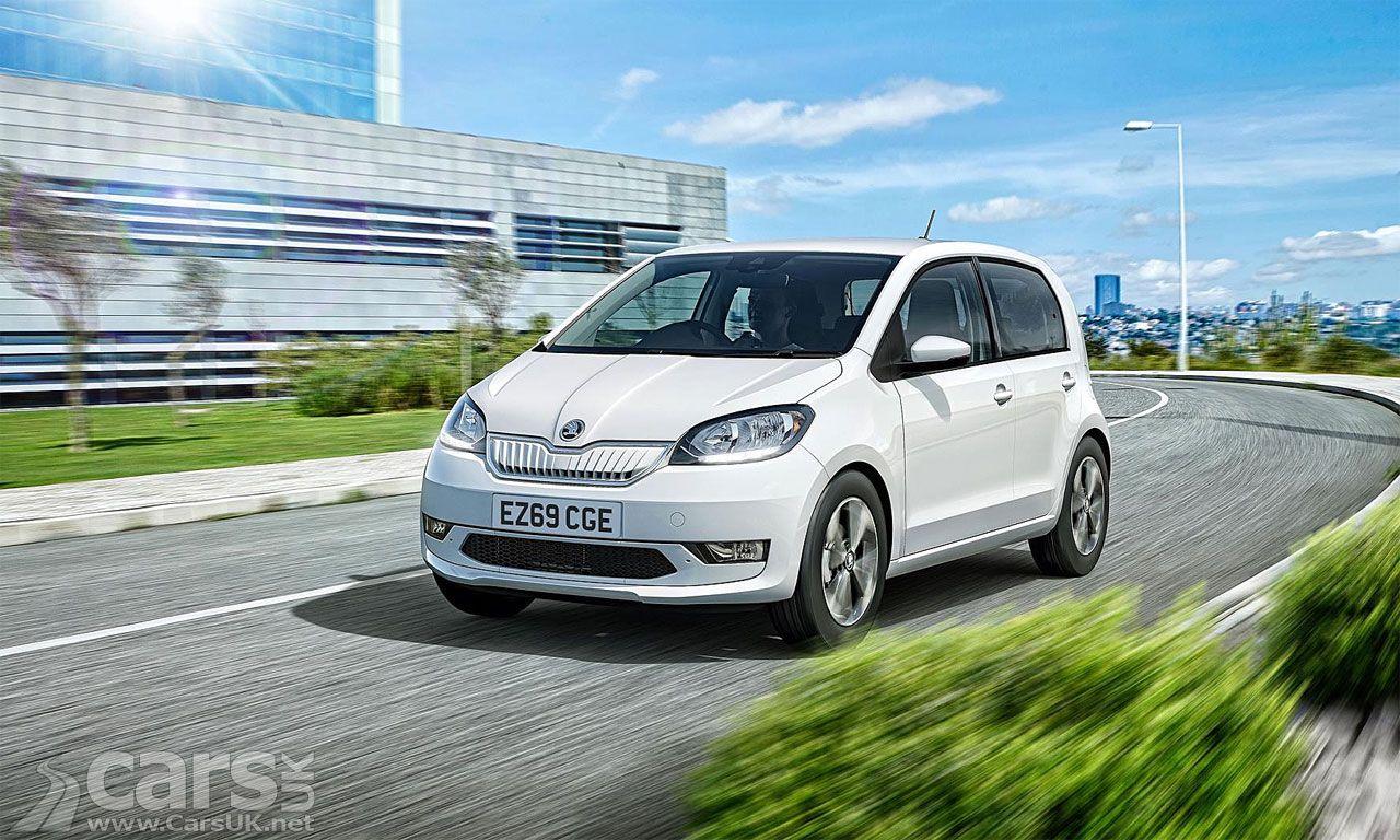 Electric Skoda Citigo E Iv Costs From 16 995 All Electric Cars
