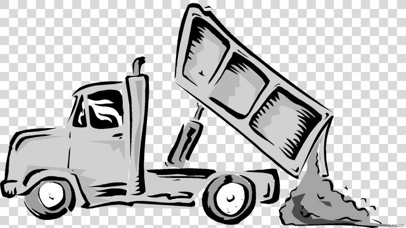 Dump Truck Clip Art Peterbilt Garbage Truck Truck Png Dump Truck Automotive Design Black And White Brand Car Garbage Truck Peterbilt Dump Truck