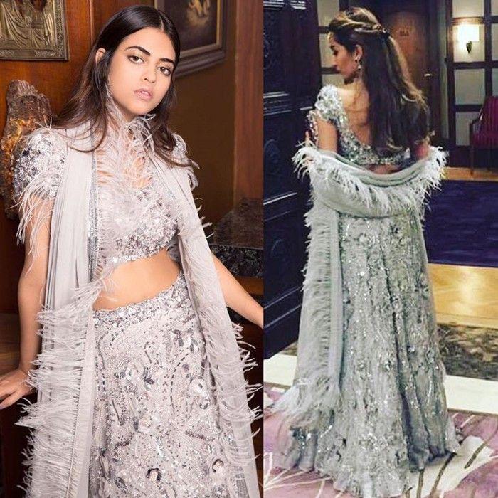 Nadine Dhody Bridal lehenga, Wedding dresses lace