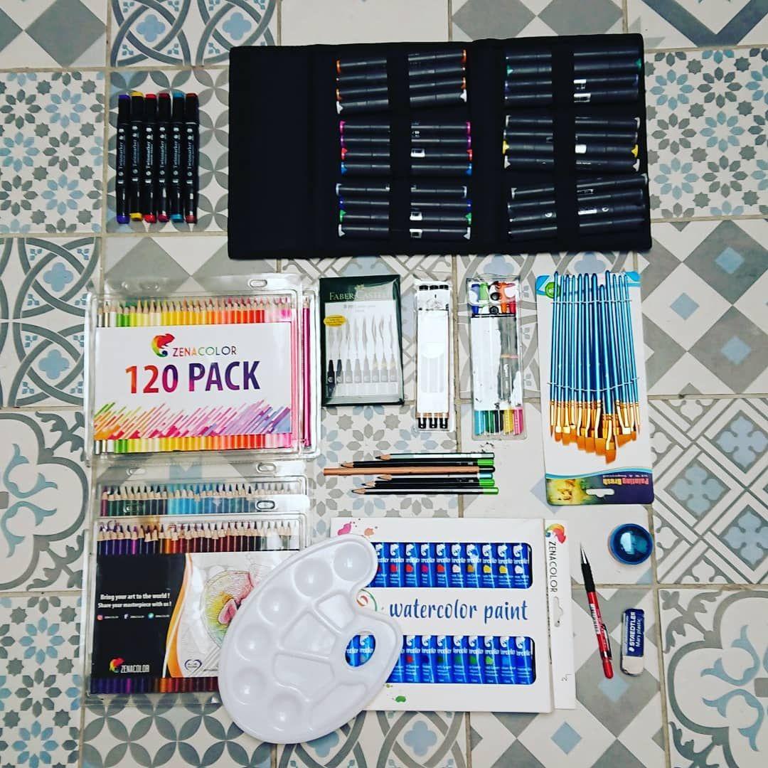 Mon Materiel A Dessin 2 2 D Autres Feutres A Alcool Crayons De