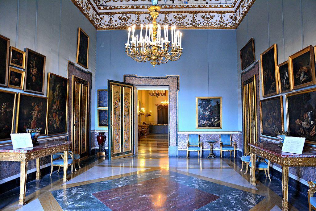 Sala xix palazzo reale di napoli with interior design napoli for Ciat arredamenti napoli