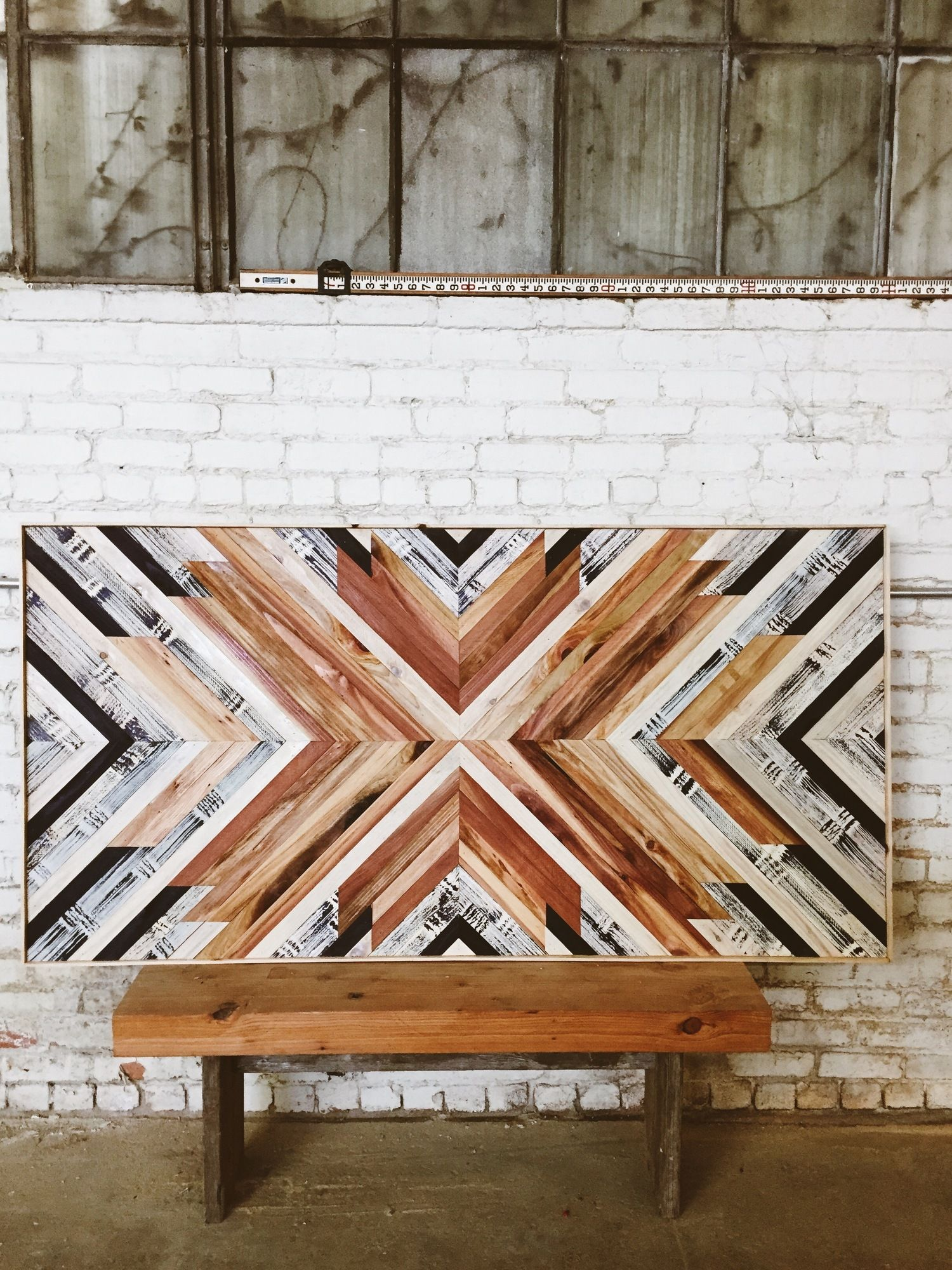 Stunning wood art by aleksandra zee in 2019 wood art - Wall designs with wood ...