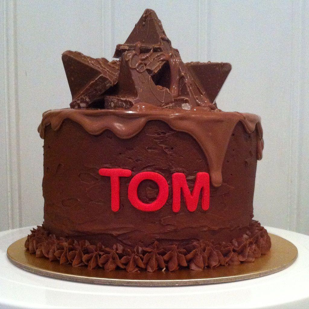 Toblerone Birthday Cake Toblerone cake, Kids cake