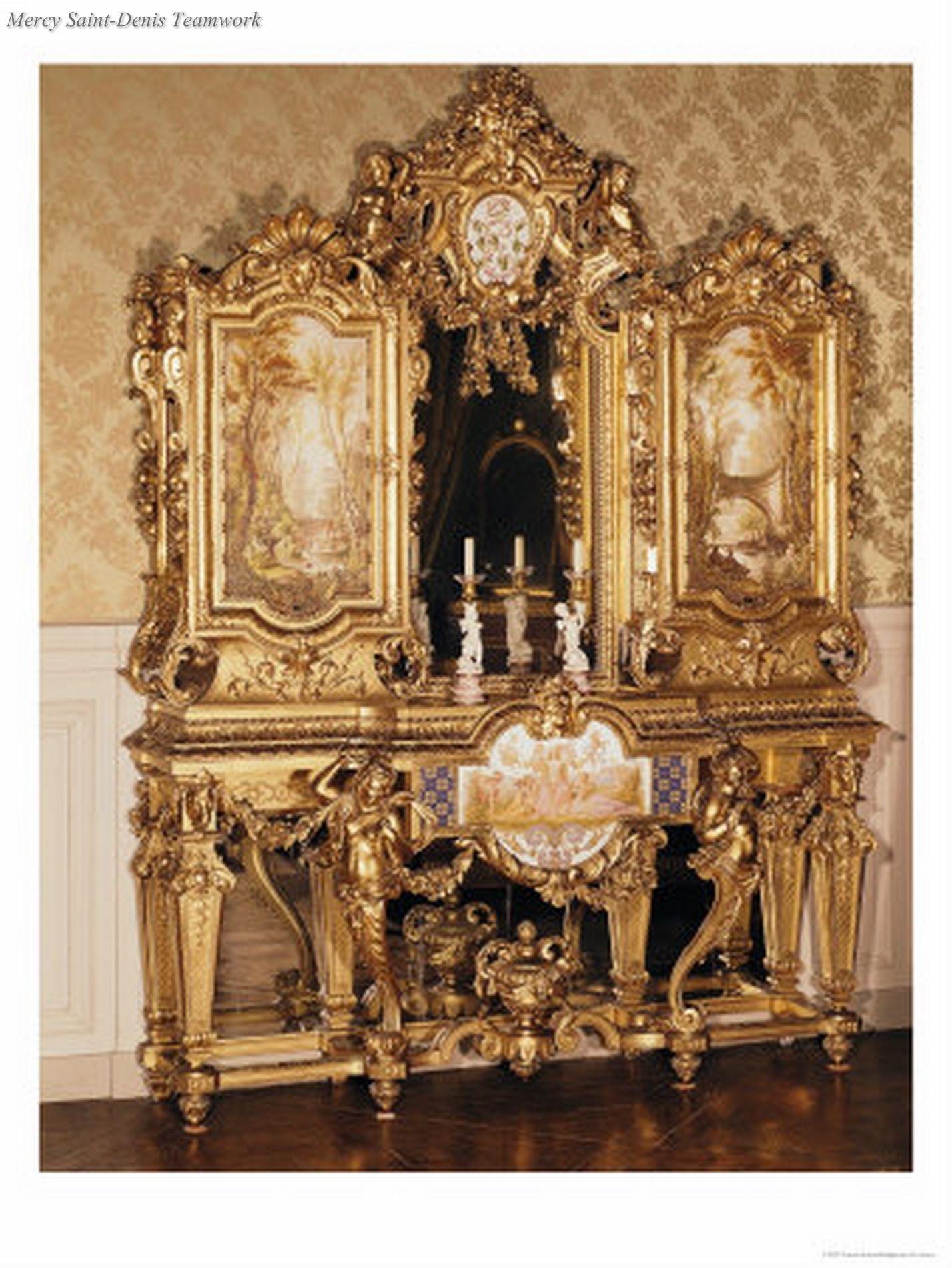 Jewellery Cabinet Belonging To Empress Eugenie De Montijo Guzman  # Muebles Guzman Nature