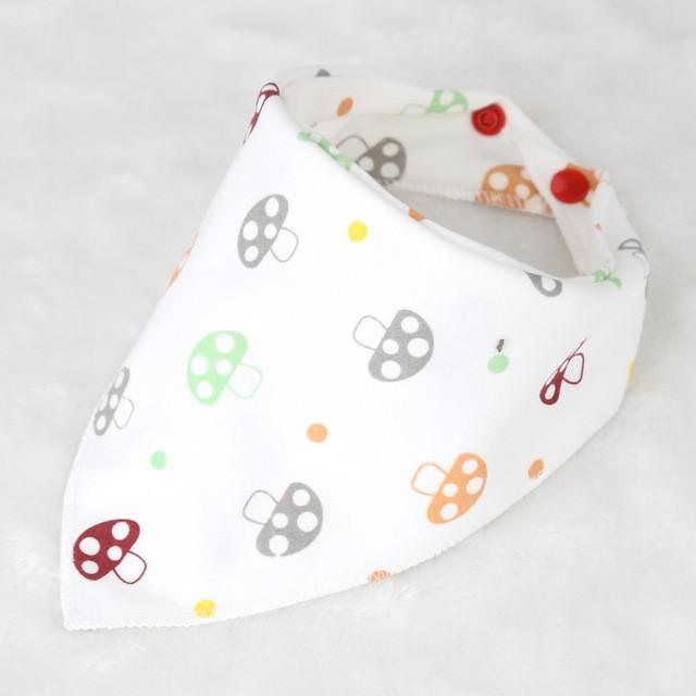 Baby Burp Bandana Bibs Cotton Soft Kids Toddler Triangle Scarf Bib Cool Accessories Boys' Baby Clothing Mother & Kids