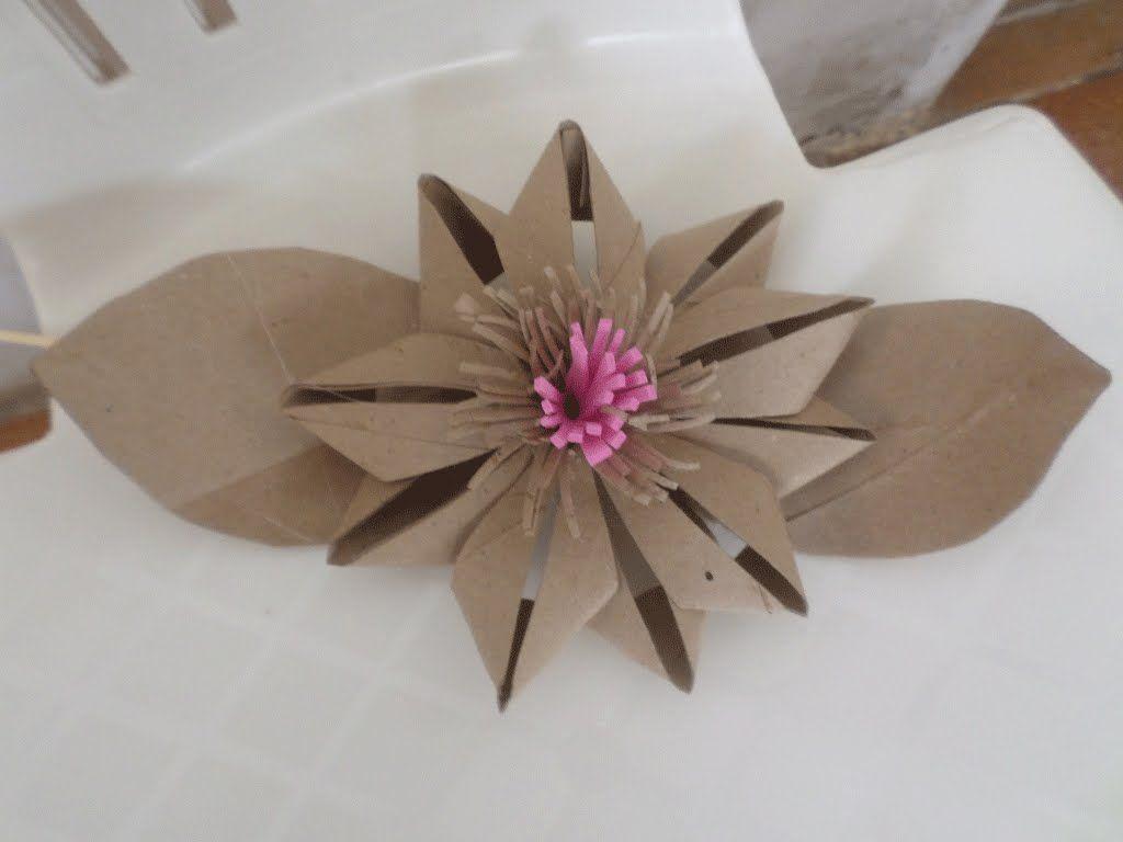 Toilet Paper Roll Flower Diy Toilet Paper Roll Toilet Paper Art Toilet Paper Crafts