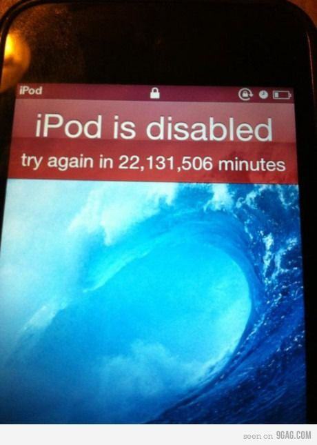That Awkward Moment When Your Ipod Locks For Years To Fill - 42 awkward moments ever