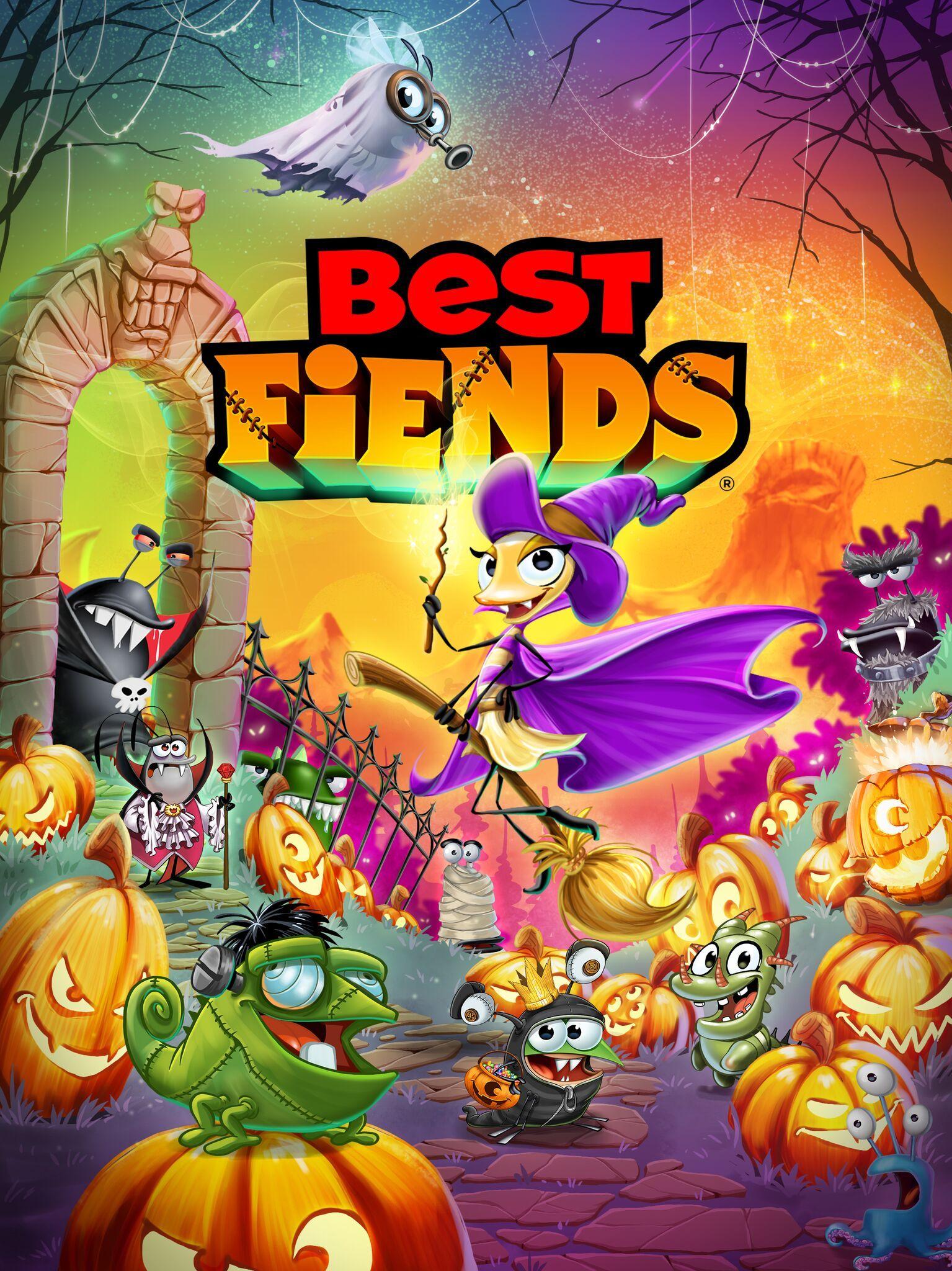Best fiends halloween 2018 best fiends halloween 2018