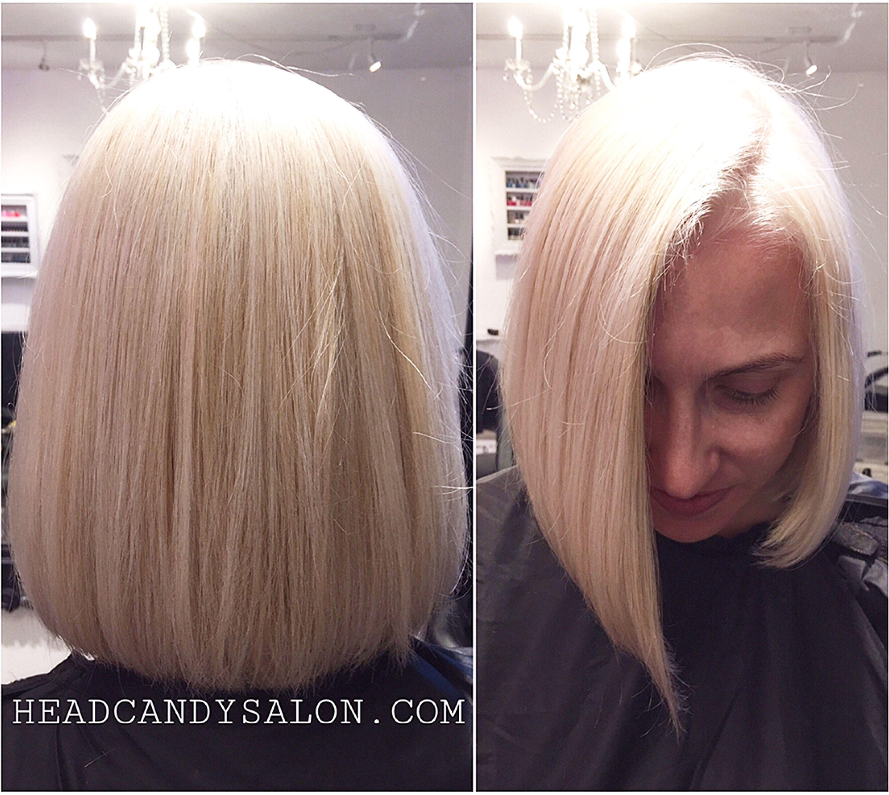 Platinum blonde headcandysalon blonde blondehair platinumblonde