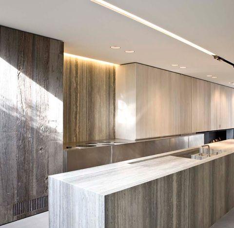 Im rechten licht kitchen k che moderne k che und for Architektur oder innenarchitektur
